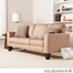 SEI Carlton Stationary Sofa - Mocha