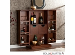 Holly & Martin Archer Fold-Away Bar - Walnut