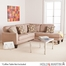 SEI Ashford 2pc Sectional - Gray