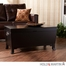 SEI Hayden Cocktail Table Trunk - Black