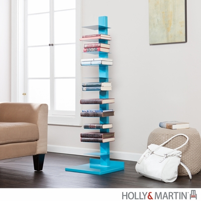 Holly & Martin Heights Book / Media Tower - Berry Blue