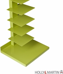 Holly & Martin Heights Book / Media Tower - Lime Green