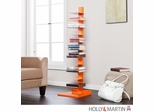 Holly & Martin Heights Book / Media Tower - Orange