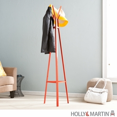 SEI Metal Hall Tree - Orange
