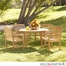 SEI 5 Pcs Teak Dining Set