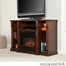 SEI Kendall Electric Media Fireplace - Espresso