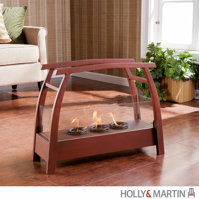 SEI Kanto Portable Indoor/Outdoor Gel Fuel Fireplace