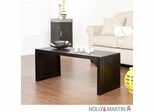 Holly & Martin Sabine Slat Bench / Table - Black