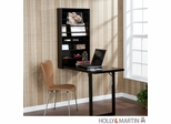 Holly & Martin Sadie Wall-Mount Craft Desk - Black