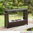 SEI Ainslie Portable Indoor/Outdoor Fireplace