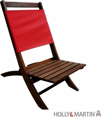 Holly & Martin Wilson Folding Picnic Chair