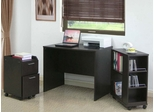 Home Office Furniture Desk Set in Espresso - 4D Concepts - OSET-1