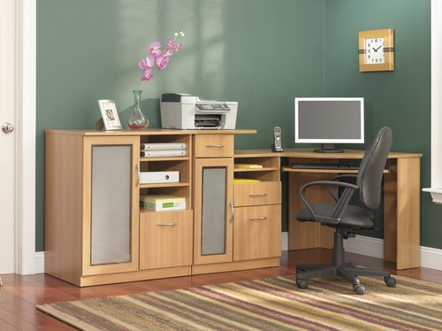 Home Office Furniture Desk Set - Vantage Collection - Bush Office Furniture - VAN-OSET-1-LD