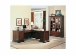 Home Office Furniture Set in Dark Cherry - Coaster