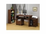 Home Office Furniture Set in Oak - Coaster