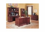 Home Office Furniture Set in Rich Cherry - Coaster
