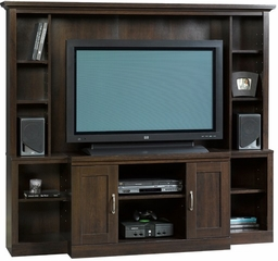 Home Theater Entertainment Center Cinnamon Cherry - Sauder Furniture - 403932
