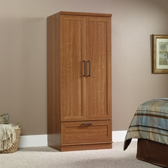 Homeplus Sienna Oak Wardrobe / Storage Cabinet - Sauder Furniture - 411802