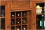 Homestead Bar Cabinet in Warm Oak - Home Styles - 5527-99