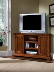 Homestead Corner Entertainment Stand in Warm Oak - Home Styles - 5527-07