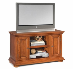 Homestead TV Stand in Warm Oak - Home Styles - 5527-09