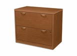 Hon 2-Drawer Lateral Filing Cabinet in Cherry - HON11563ABHH