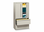 Hon 2-Drawer Lateral Filing Cabinet in Gray - HON785LSQ