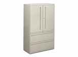 Hon 2-Drawer Lateral Filing Cabinet in Gray - HON795LSQ
