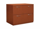 Hon 2-Drawer Lateral Filing Cabinet in Henna Cherry - HONPC634XVJJJ