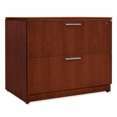 Hon 2-Drawer Lateral Filing Cabinet in Henna Cherry - HONVW636XC1JJ