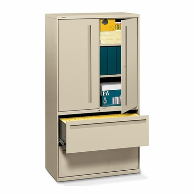 Hon 2-Drawer Lateral Filing Cabinet in Putty - HON785LSL