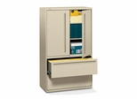 Hon 2-Drawer Lateral Filing Cabinet in Putty - HON795LSL