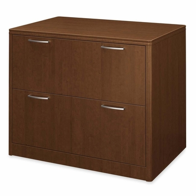 Hon 2-Drawer Lateral Filing Cabinet in Shaker Cherry - HON118690FF