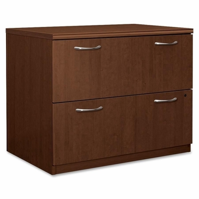 Hon 2-Drawer Lateral Filing Cabinet in Shaker Cherry - HONPC634XVJFF