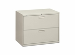 Hon 2-Drawer Lateral Filing Cabinet - Light Gray - HON582LQ