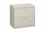 Hon 2-Drawer Lateral Filing Cabinet - Lt. Gray - HON572LQ