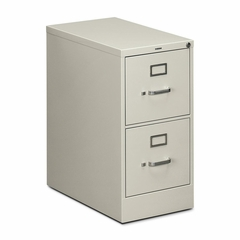 Hon 2-Drawer Letter File Cabinet - Light Gray - HON512PQ
