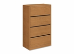 Hon 4-Drawer Lateral Filing Cabinet in Harvest - HON10516CC