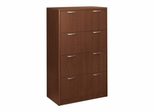 Hon 4-Drawer Lateral Filing Cabinet - Shaker Cherry - HON118699FF