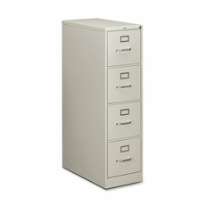 Hon 4-Drawer Letter File Cabinet- Light Gray - HON214PQ