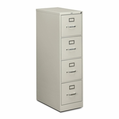 Hon 4-Drawer Letter File Cabinet- Light Gray - HON514PQ