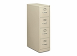 Hon 4-Drawer Letter File Cabinet- Putty - HON214PL