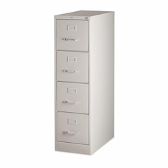 Hon 4-Drawer Vertical File Cabinet- Putty - LLR60193