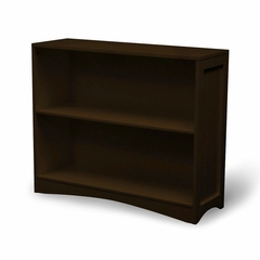 Horizontal Bookcase in Espresso Brown - RiverRidge - 02-028