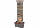 Horizontal Floor Fountain in Natural Slate - Kenroy Home - 50293SLCOP
