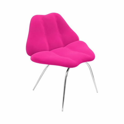 Hot Pink Smooch Chair - Lumisource