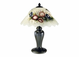 Hummingbird Flower Table Lamp - Dale Tiffany