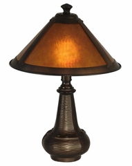 Hunter Mica Accent Lamp - Dale Tiffany - TA90191