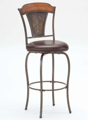 Huntington Swivel Bar Stool - Hillsdale Furniture - 4715-830