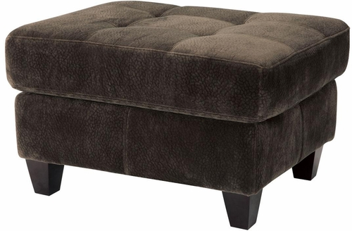 Hurley Chocolate Tufted Ottoman - 503544